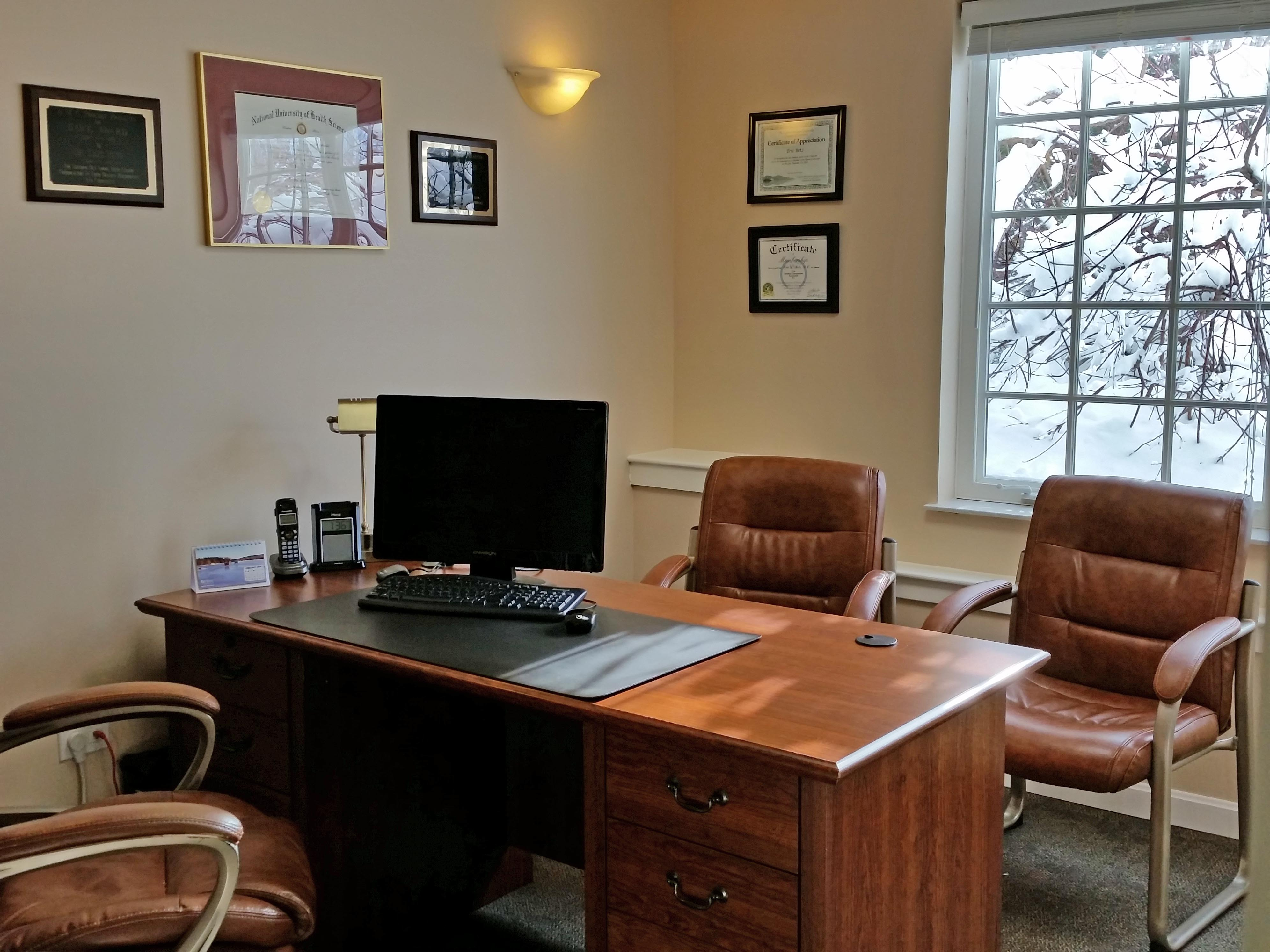 doctors office consultation room